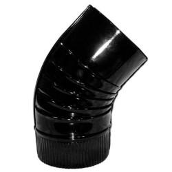 Codo Estufa Color Negro...