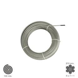 Cable Galvanizado   6  mm....