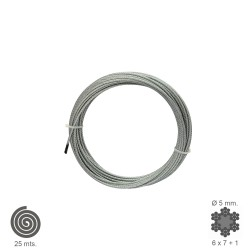 Cable Galvanizado    5 mm....